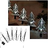 LED Weihnachtsbaum 6tlg, Batteriebetrieb 16079
