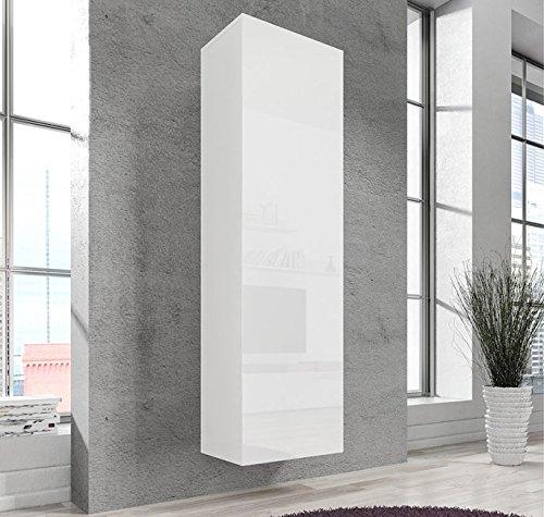 Muebles bonitos lettiemobili –mobile pensile verticale amalfi bianco
