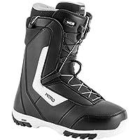 Bota de Snowboard para Hombre Nitro Sentinel TLS 2019, Color Negro, tamaño 27,5