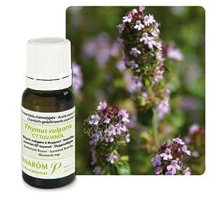 Pranarom - Huile essentielle thym vulgaire à thujanol - 5 ml huile essentielle thymus vulgaris