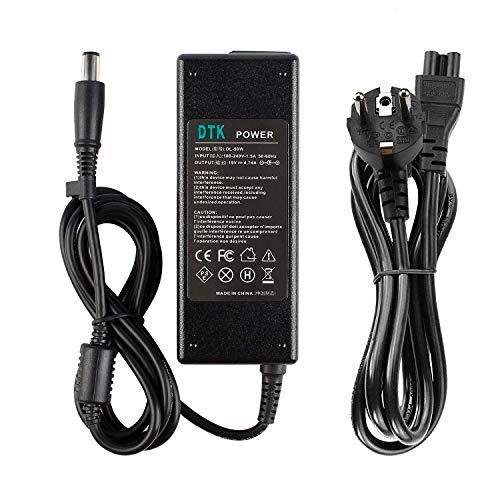 DTK Cargador Adaptador para Ordenador Portátil HP 19V 4.74A 90W Pavilion G6 G7 DV4...