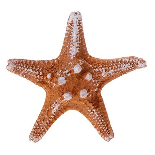 Exing Aquarium Ornament with Artificial Starfish Design