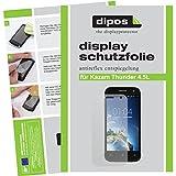 dipos I 2X Schutzfolie matt passend für Kazam Th&er 4.5 L Folie Bildschirmschutzfolie