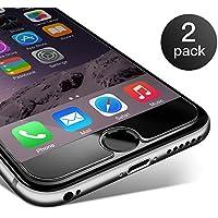 iPhone 6/ 6S Pellicola Protettiva Coolreall® 2 Pack in Vetro Temperato Screen Protector Film Ultra Resistente (0,25mm HD Alta trasparente)