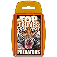 Predators Top Trumps Card Game