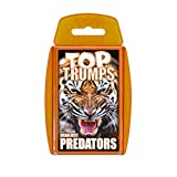Deadliest Predators Top Trumps Card Game