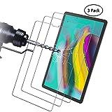 Didisky Panzerglas Hartglas Displayschutzfolie für Samsung Galaxy Tab S5e (SM-T720 (Wi-Fi), SM-T725 (LTE), [ 3er Pack ] Kratzfest, 9H Härte, Keine Blasen, Einfach anzuwenden, Fall-freundlich