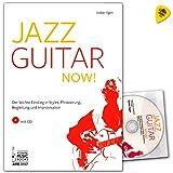Jazz Guitar Now. Guitare Jazz école von Volker ilgen-Légère Seuil de styles, phrasierung, accompagnement et Improvisation-lehrbuch avec CD et Dunlop Médiator