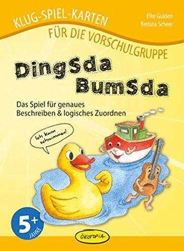 Dingsdabumsda: Das Spiel für genaues Beschreiben & logisches Zuordnen (Klug-Spiel-Karten) (Klug-Spiel-Karten für die Vorschulgruppe)
