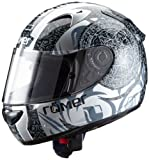 Römer Mandala Motorradhelm, Schwarz / Grau, Größe XXL
