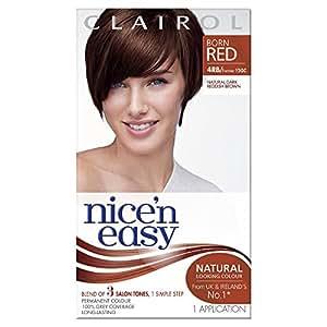 Clairol Nice 'n Easy Permanent Hair Colour - 120C Natural Dark Reddish Brown
