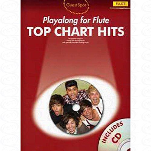 TOP CHART HITS - arrangiert für Querflöte - mit CD [Noten/Sheetmusic] aus der Reihe: GUEST SPOT