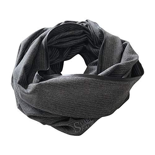Scarfface reflektierender Loop 80, schwarz-offwhite