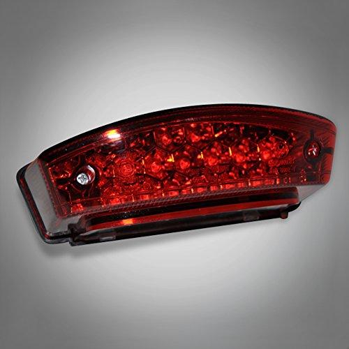 826 RicambiWeiss DUCATI MONSTER 600 750 900 S2R LED Rücklicht Rot Hecklicht Heckleuchte