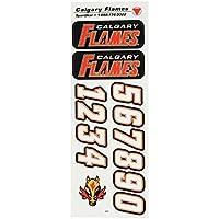 NHL Helmsticker Set Sportstar Team Calgary Flames