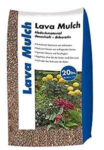Lava Mulch Rot 16-32 mm 20 Liter Sack: Amazon.de: Garten