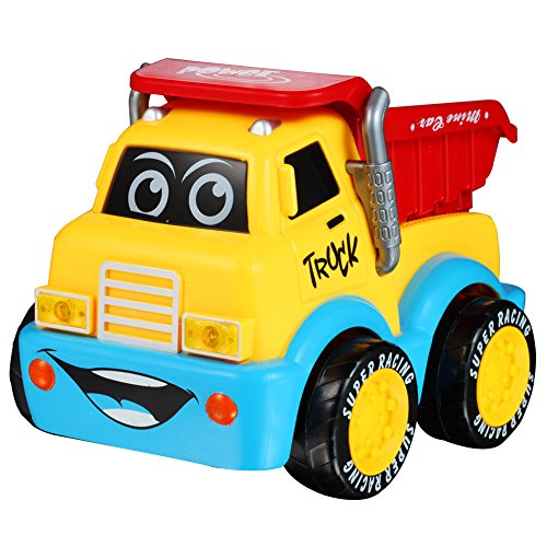 SINACO Cartoon R/C Engineering Truck Race Car Radio for sale  Delivered anywhere in UK