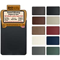 MastaPlasta Self-Adhesive Leather Repair Patch. XL 28cmx20cm. Choose Colour. First-Aid for Sofas, Car Seats. Fix Holes, Rips, Burns, Stains
