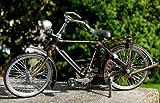 Miniatur-Modell von Herren Cruiser Fahrrad Metall Bike Fahrrad04