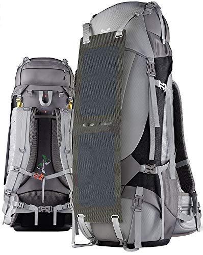 Backpack Bag Ghostek NRGcamper 60L with solar Panel POWERBANK 16000mAh USB -