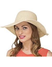Chapeau Pliable de Soleil Gansé Femme Fille Printemps Été LS14004