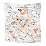 DGNG Geometrie Dreieck Tapisserie Wandbehang Stoff Hippie Indien Zigeuner Wanddekoration Zuhause Schlafzimmer Hintergrundwand,#2,L:200 * 150Cm/78 * 59In