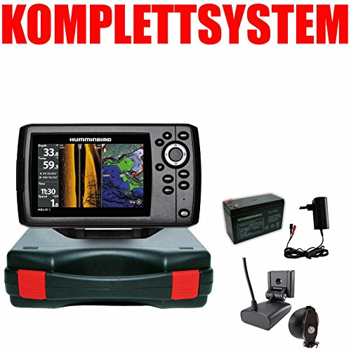 Humminbird Echolot GPS Portabel Basic - Helix 5 Chirp GPS SI G2 Side Imaging Side Imaging Sonar