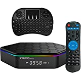 Easytone T95Z Plus Google TV BOX Android 6.0 Amlogic 912 Octa Core 2GB DDR3 16GB EMMC Android TV Box Support 2.4G/5G Dual Band WIFI 1000M LAN 4K 3D With Wireless Mini Keyboard