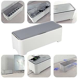 container e box 36x14cm kunststoff box schutz ordnung kabelordnung stromschutz k che. Black Bedroom Furniture Sets. Home Design Ideas