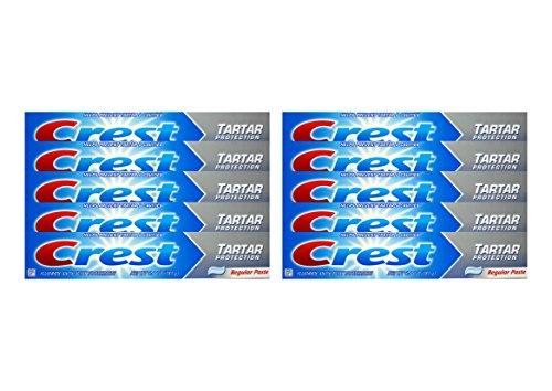 Crest Tartar Protection (10x CREST Tartar Protection Regular Zahnpasta 181g Tartar & Cavities)