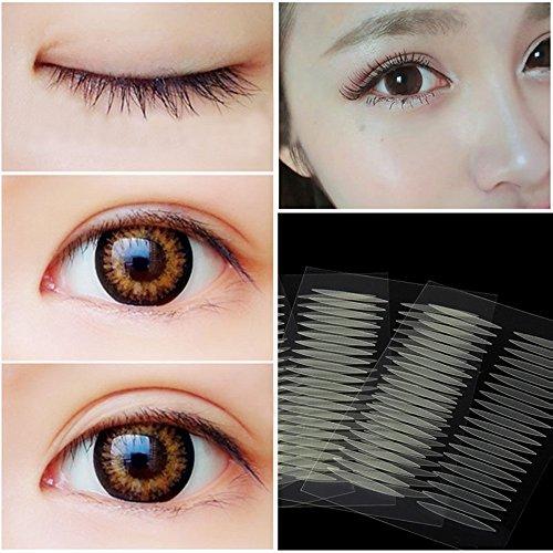 Ouneed® Doppelter Augenlidaufkleber Oliv-förmig ,200 Paar Medizinischer Kleber Doppel Augenlid Aufkleber (200paar) -