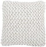 Haus Kreative Textur 10Kissenbezug Deko, Wolle, Ecru, 25x 2x 33cm