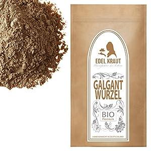 EDEL KRAUT | BIO GALGANT-WURZEL gemahlen – Premium organic galangal root 100g