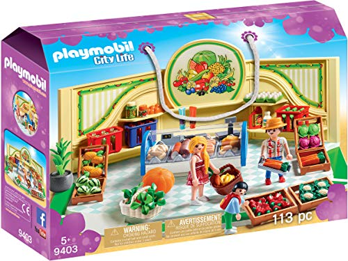 Playmobil- Tienda Frutas Verduras Juguete