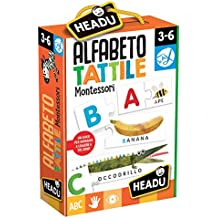 Headu 55035 Alfabeto Tattile Montessori
