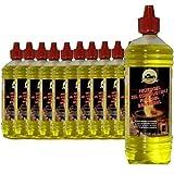12 Litri di Carburante High-Performance-Gel / Con la tutela dei minori e riempimento ugelli ad ogni bottiglia