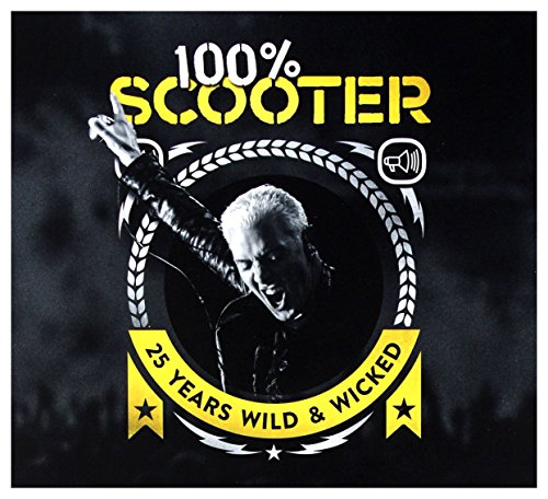 Scooter: 100{3dc9b827ac5d8ced0613ab9d0447967d1bb00d08d18866d7180cc01ea525a7f7} Scooter (25 Years Wild And Wicked) [3CD]