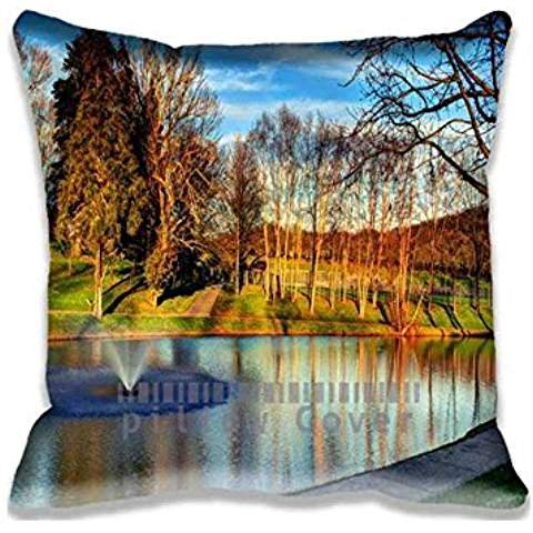 20x20inch-lake-at-darden-towe-park-decorative-home-square-throw-pillow-covers