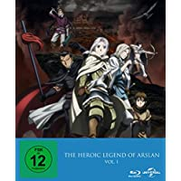 The Heroic Legend of Arslan  (Ep. 1-13)  Vol. 1 - Limited Premium Edition