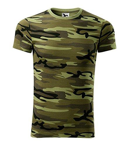 T-Shirt Militär Camouflage für Damen Shirt Grün