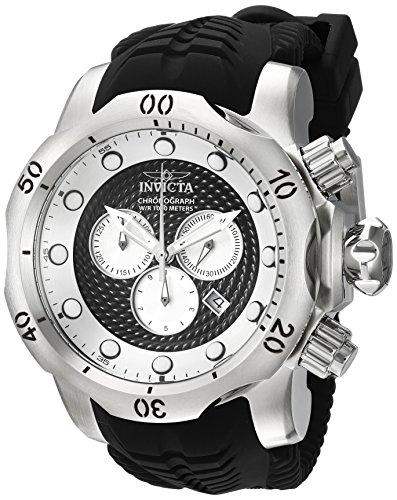 Invicta Venom Herren-Armbanduhr 53mm Armband Kunststoff Schweizer Quarz 20439 (Venom Uhren Für Männer Invicta)