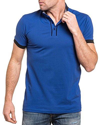 Deeluxe 74 - Klassisches Polo königsblau Mann Blau