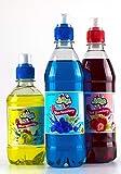 Blaue Himbeere & Erdbeeren Slushie Sirupe, w/GRATIS Margarita macht Slush Welpe stil eis getränke, schnee kegel, cocktail