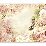 murando Fotomurales Flores 300x210 cm XXL Papel pintado tejido no tejido Decoración de Pared decorativos Murales moderna Diseno Fotográfico naturaleza b-a-0146-a-c
