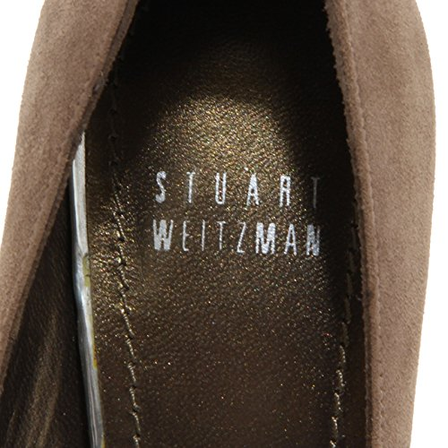 62158 decollete spuntata STUART WEITZMAN scarpa donna shoes women Tortora