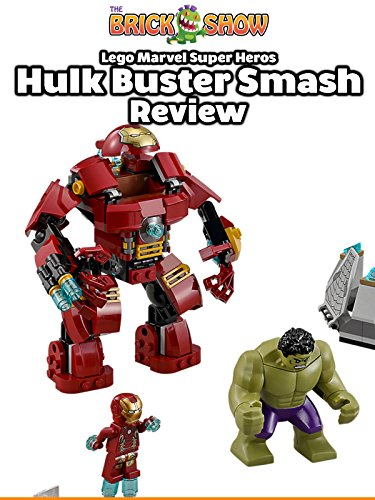 Review: Lego Marvel Super Heros Hulkbuster Smash Review [OV]