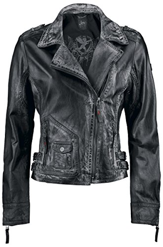 Gipsy Paris Laret Girl-Lederjacke schwarz XL