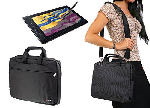 Navitech Étui de tablette graphique noir / sac pour le WACOM MobileStudio Pro 13