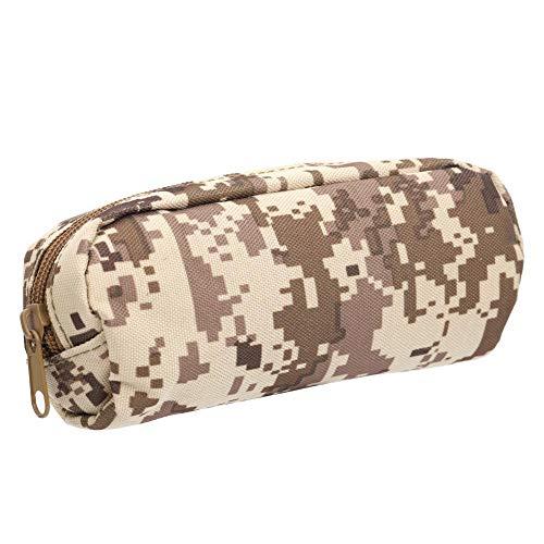 Alomejor Sonnenbrillen Etui Tragbare Stoßfeste Brille Schutzbox Militär Sonnenbrillen Tasche für Brillenträger(#4)