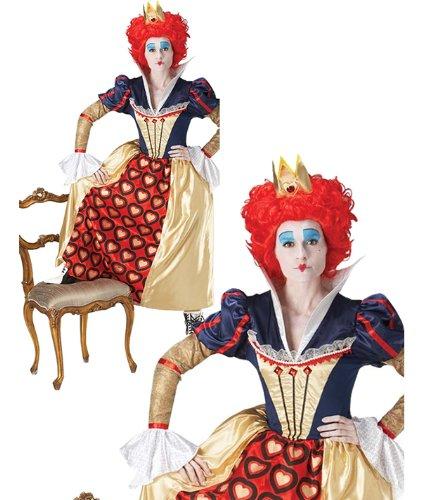 Imagen de red  disfraz de reina alicia adultos, talla l 44  46  r778854 l  alternativa